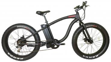 e-Fatbike WMX26 s-Modell mit 250W Motor